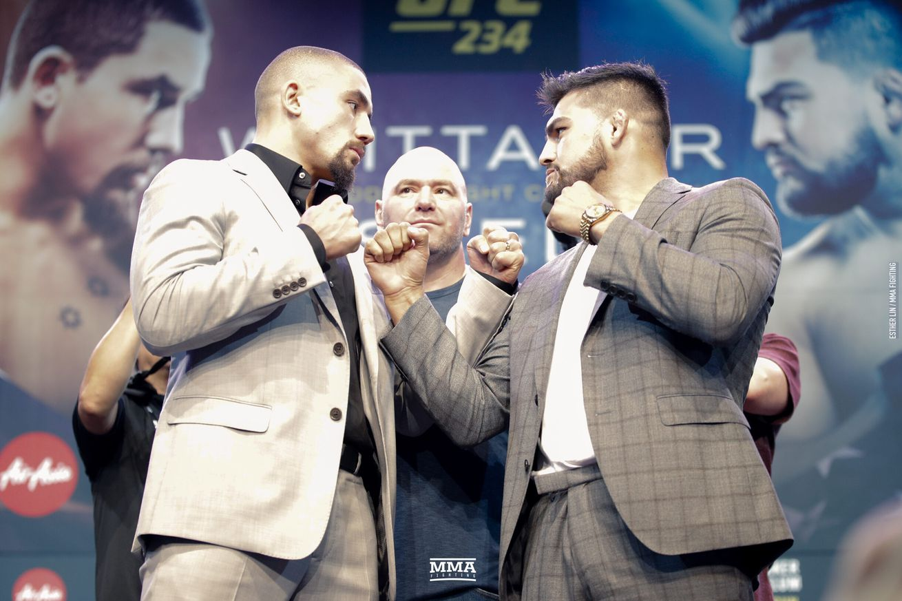Robert Whittaker vs. Kelvin Gastelum