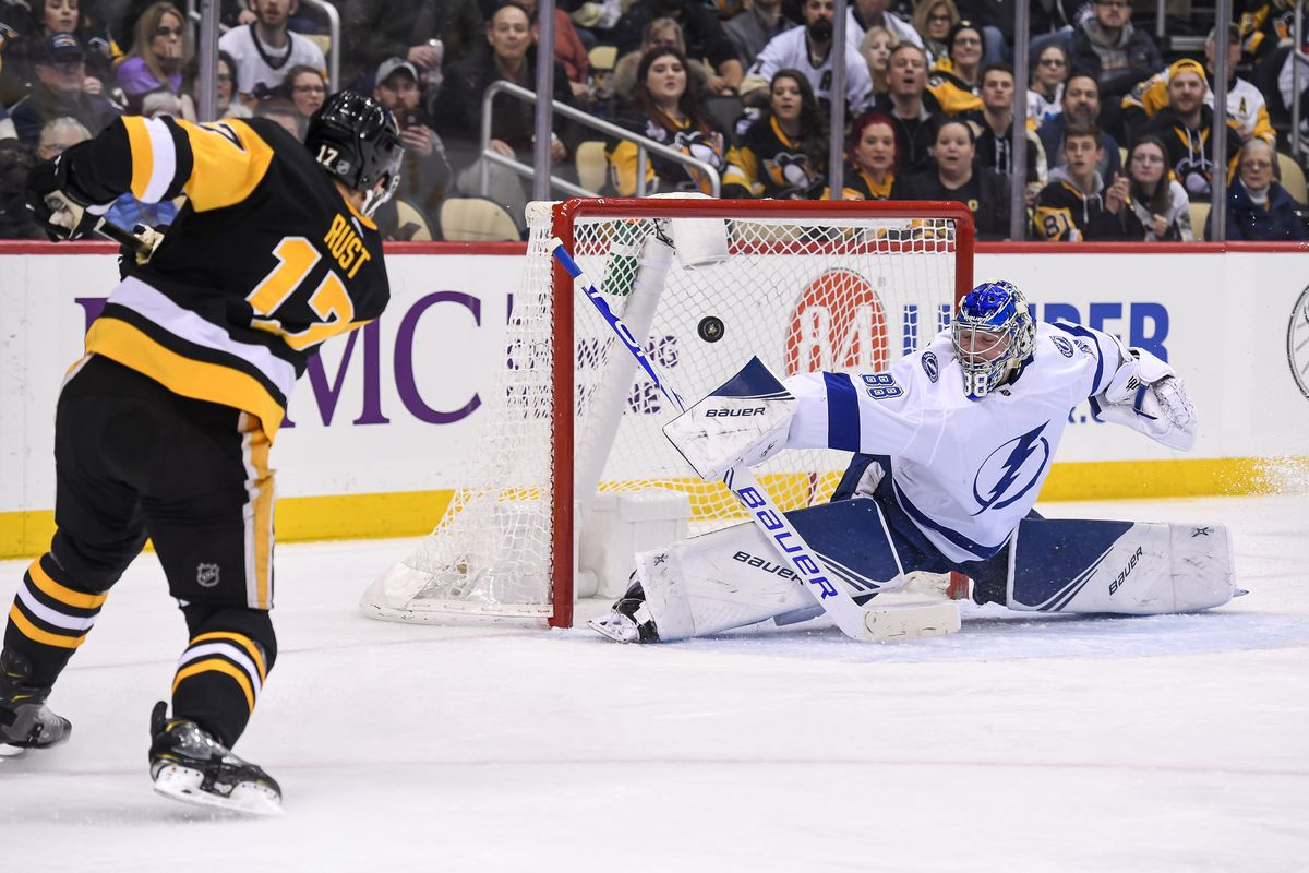 NHL: FEB 11 Lightning at Penguins