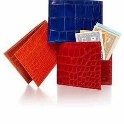 NM Exclusive alligator wallet, $595