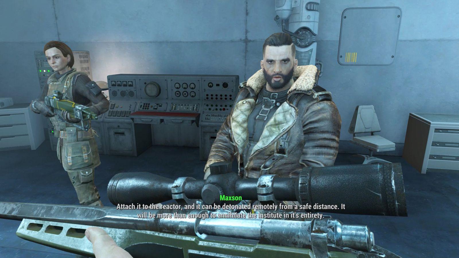 Fallout 4  The Nuclear Option  Brotherhood Of Steel  Walkthrough