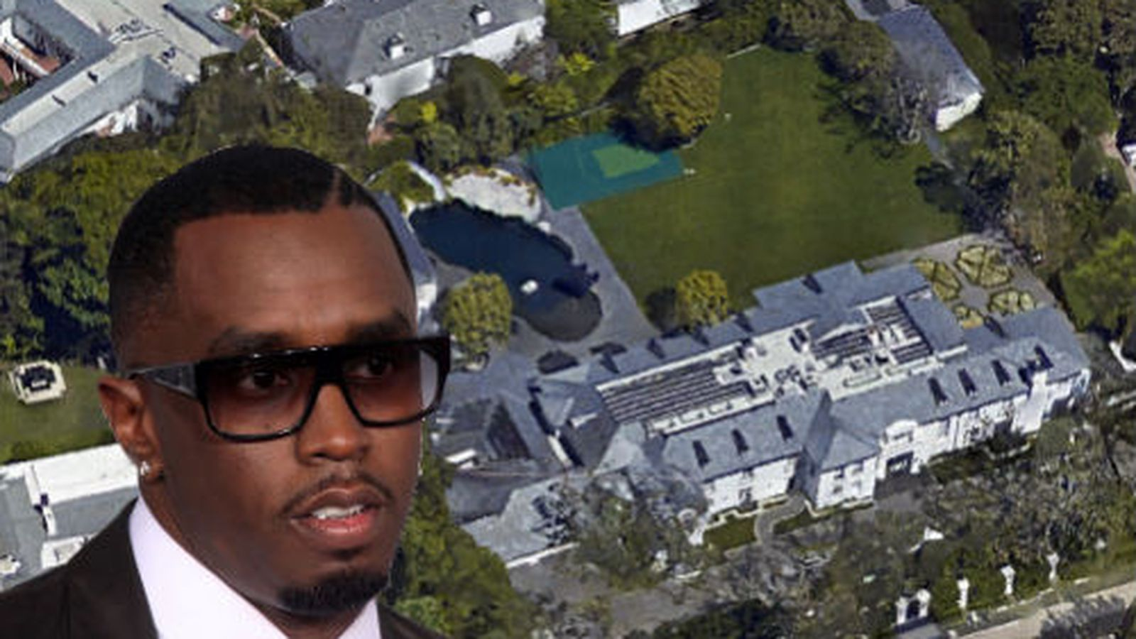 diddy's new $39-million mansion has an underwater tunnel - curbed la