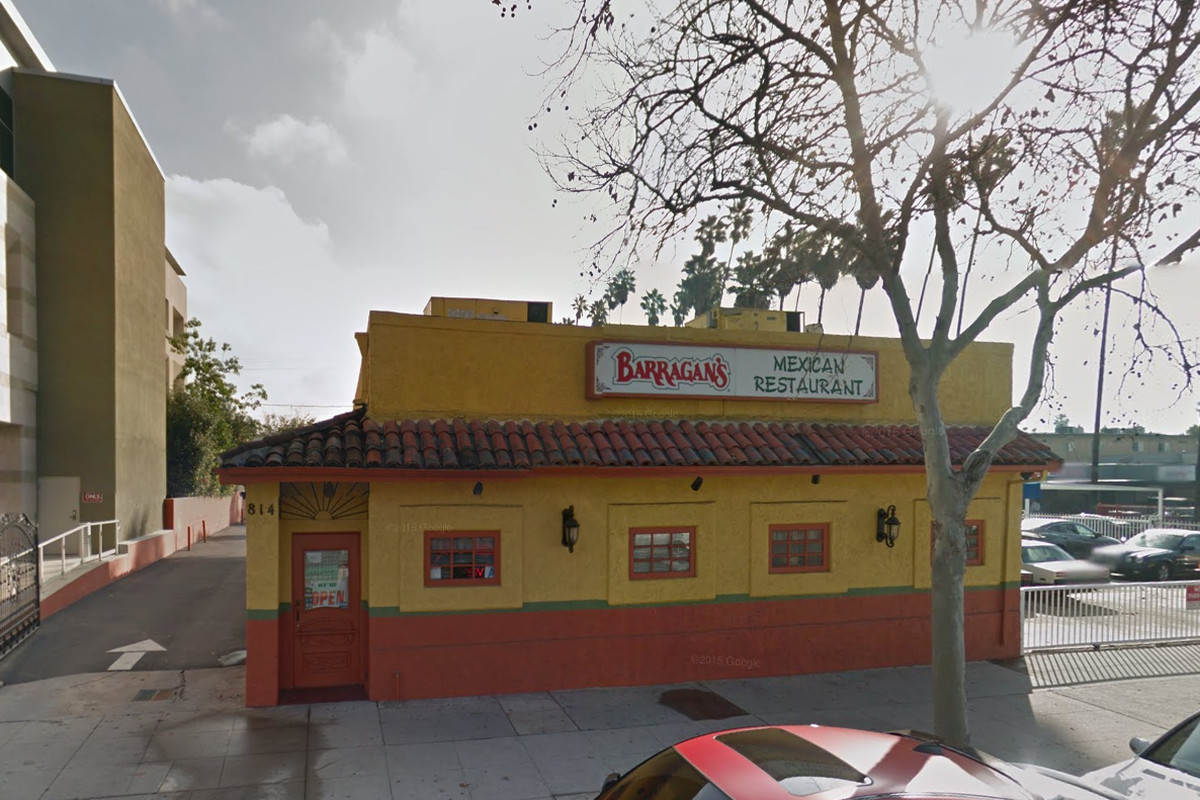 Suspect Sought In Armed Robbery At Barragan S Mexican