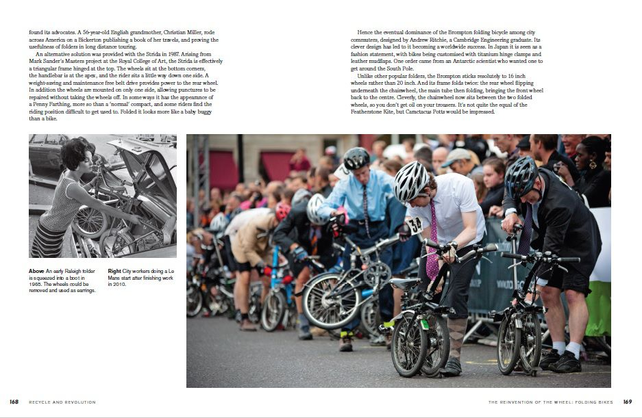 The Splendid Book of the Bicycle, by Daniel Tatarsky