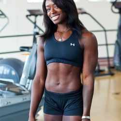 """<a href=""""http://ny.racked.com/archives/2012/07/26/hottest_trainer_contestant_3_robynn_europe.php""""><b>Robynn Europe</b></a> from The Sports Center at Chelsea Piers. Photo by <a href=""""http://www.williamchanphoto.com/"""">William Chan</a>"""