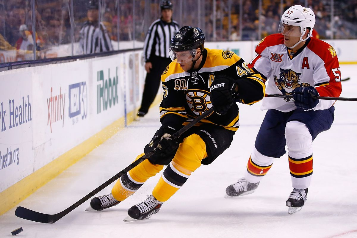 David Krejci was too much for the Panthers.
