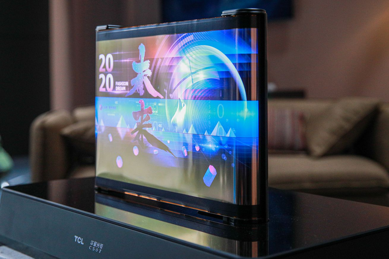 Weird flex: TCL shows off two more of its rollable, extendable display concepts