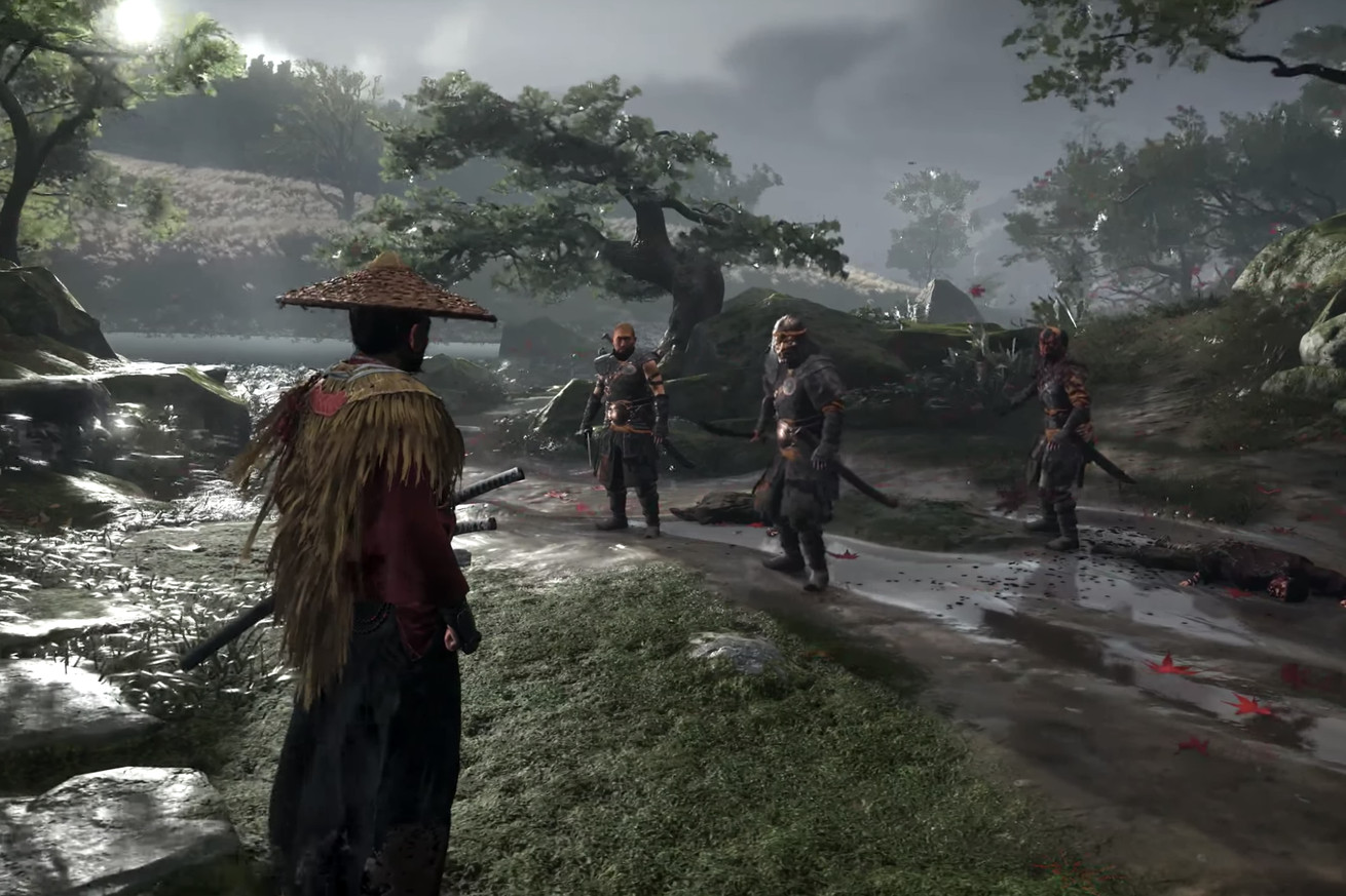 watch the first gameplay trailer for ps4 exclusive ghost of tsushima