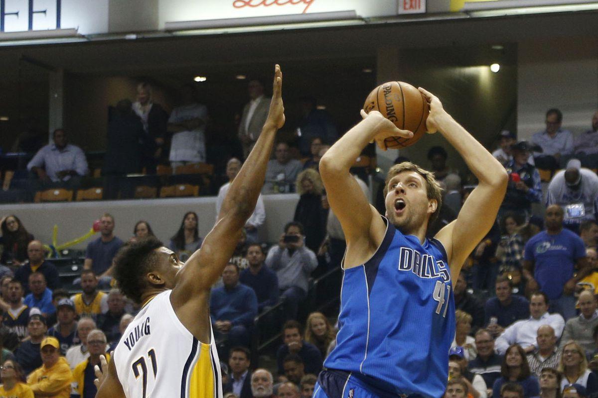 NBA: Dallas Mavericks at Indiana Pacers