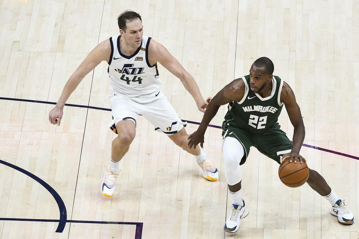 Milwaukee Bucks v Utah Jazz