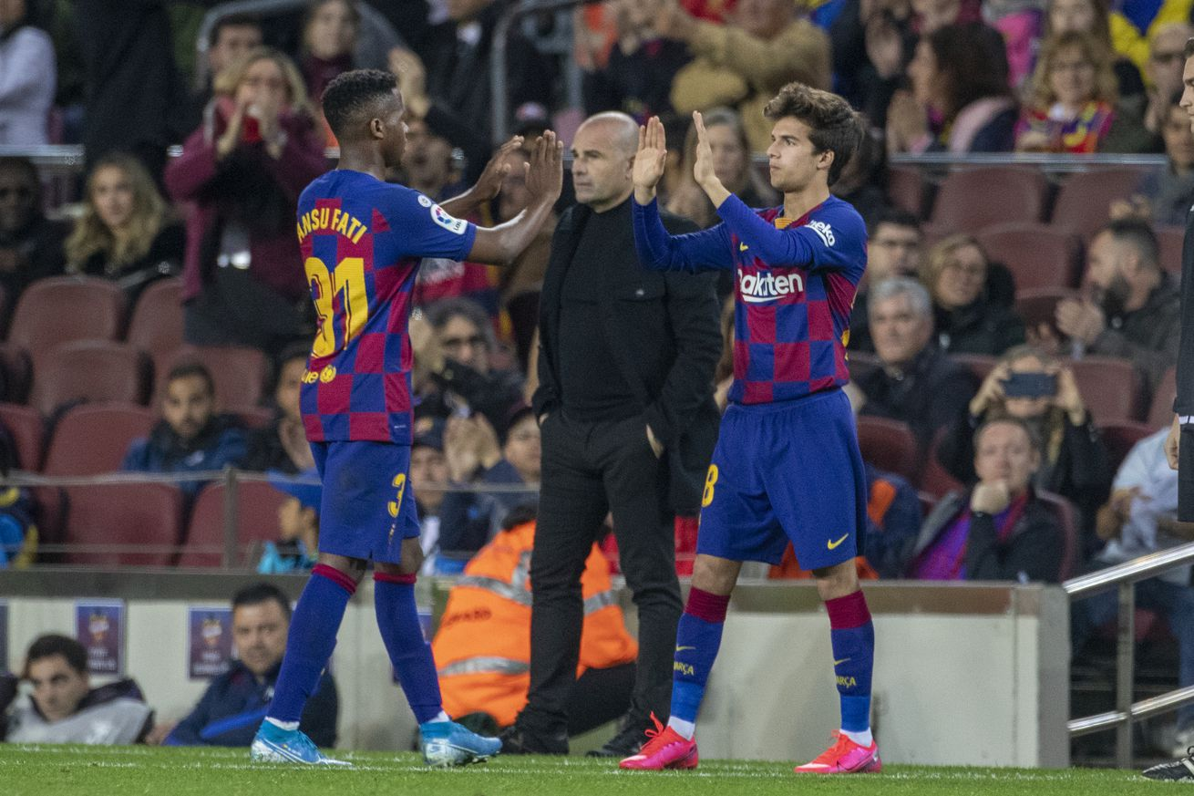 Barcelona?s plan for Ansu Fati and Riqui Puig