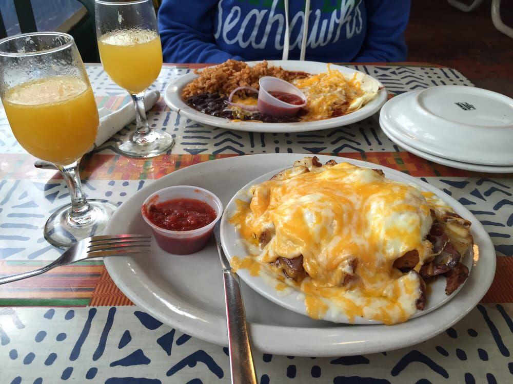 Food at Magnolia Cafe