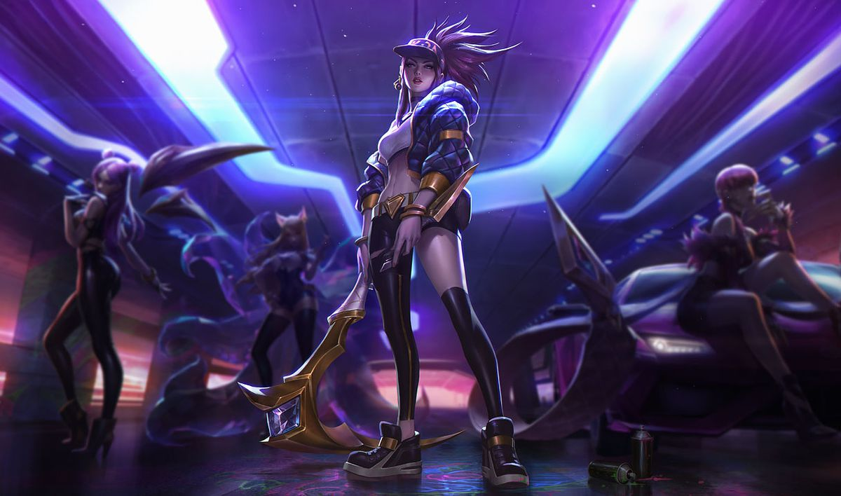 Image result for kda akali