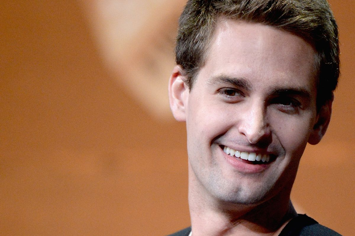 Evan Spiegel just sold stock for the first time since Snap's IPO