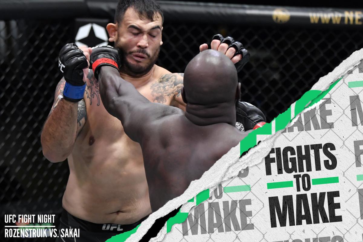 UFC Vegas 28: Jairzinho Rozenstruik vs. Augusto Sakai