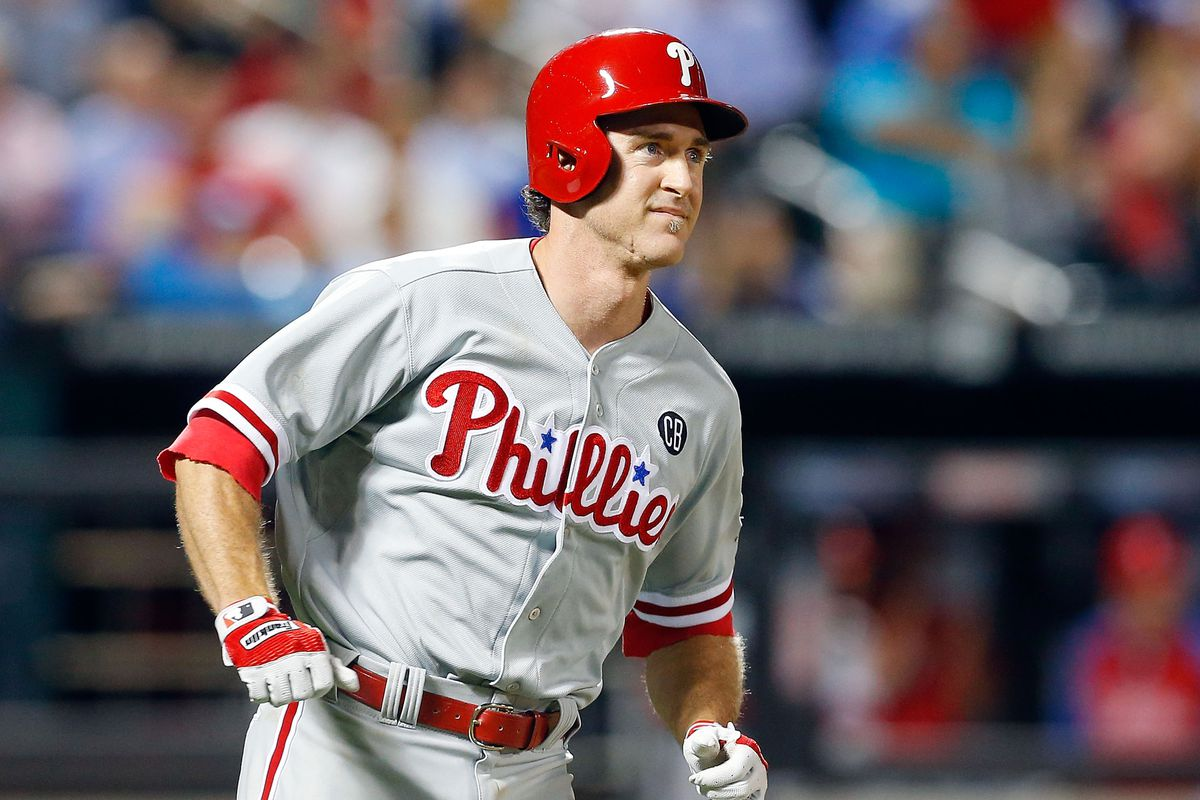 Chase Utley was one of many Phillies placed on waivers yesterday.