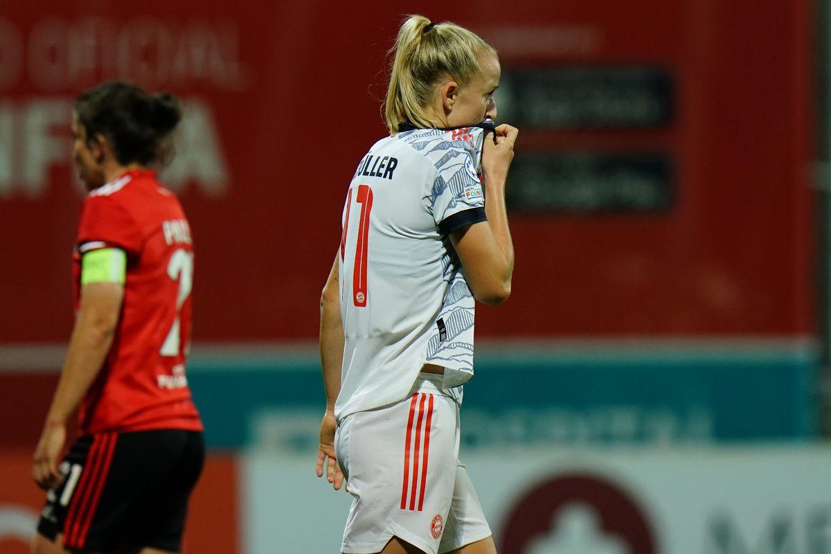 SL Benfica v Bayern Munchen - Group D - UEFA Women's Champions League