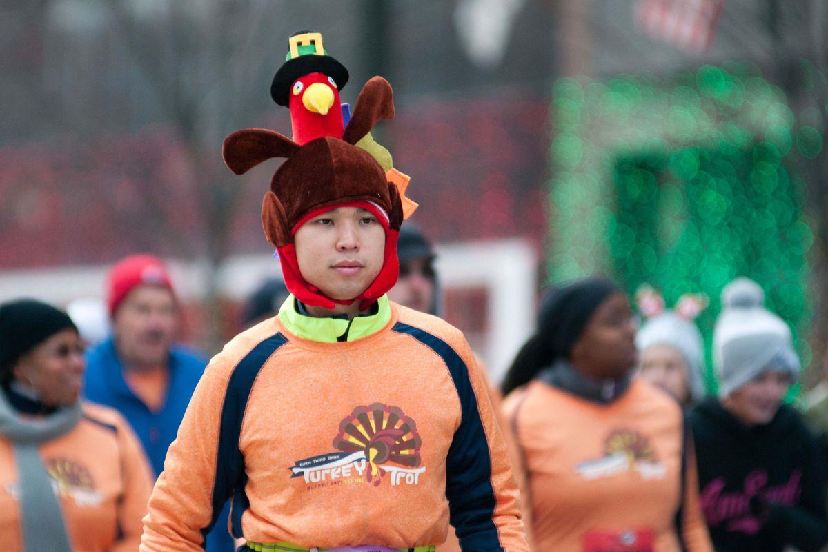 Turkey + Touchdowns = Thanksgiving.