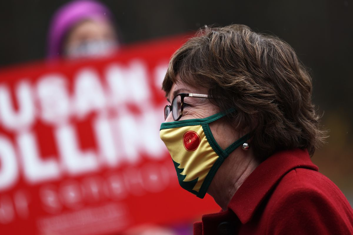 Sen. Susan Collins Campaigns For Re-Election In Maine