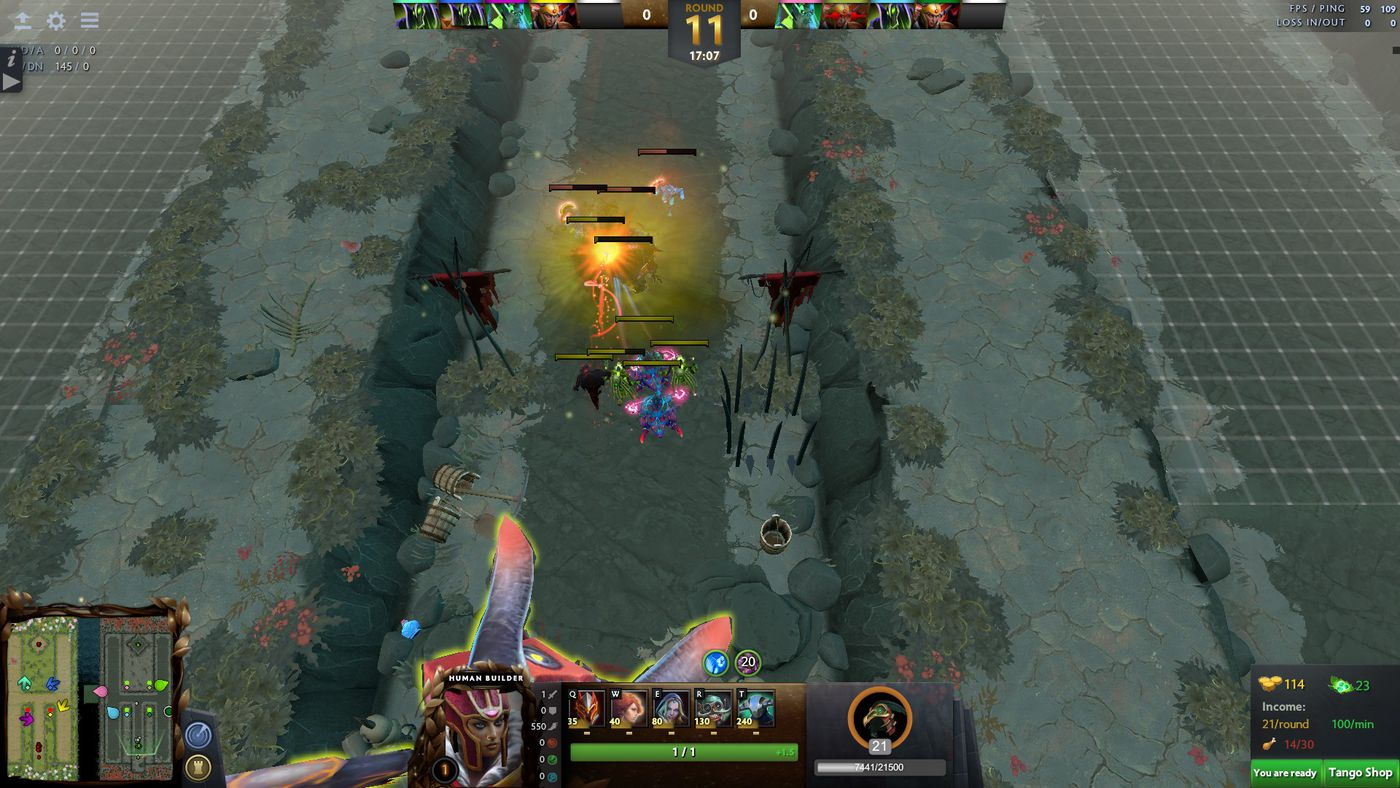 We played Legion TD Reborn, the Dota 2 remake of a classic