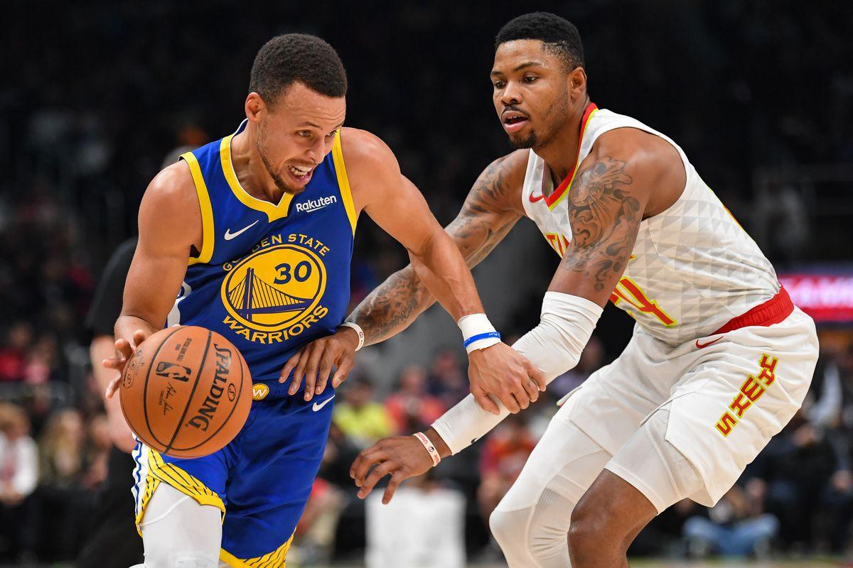 NBA: Golden State Warriors at Atlanta Hawks