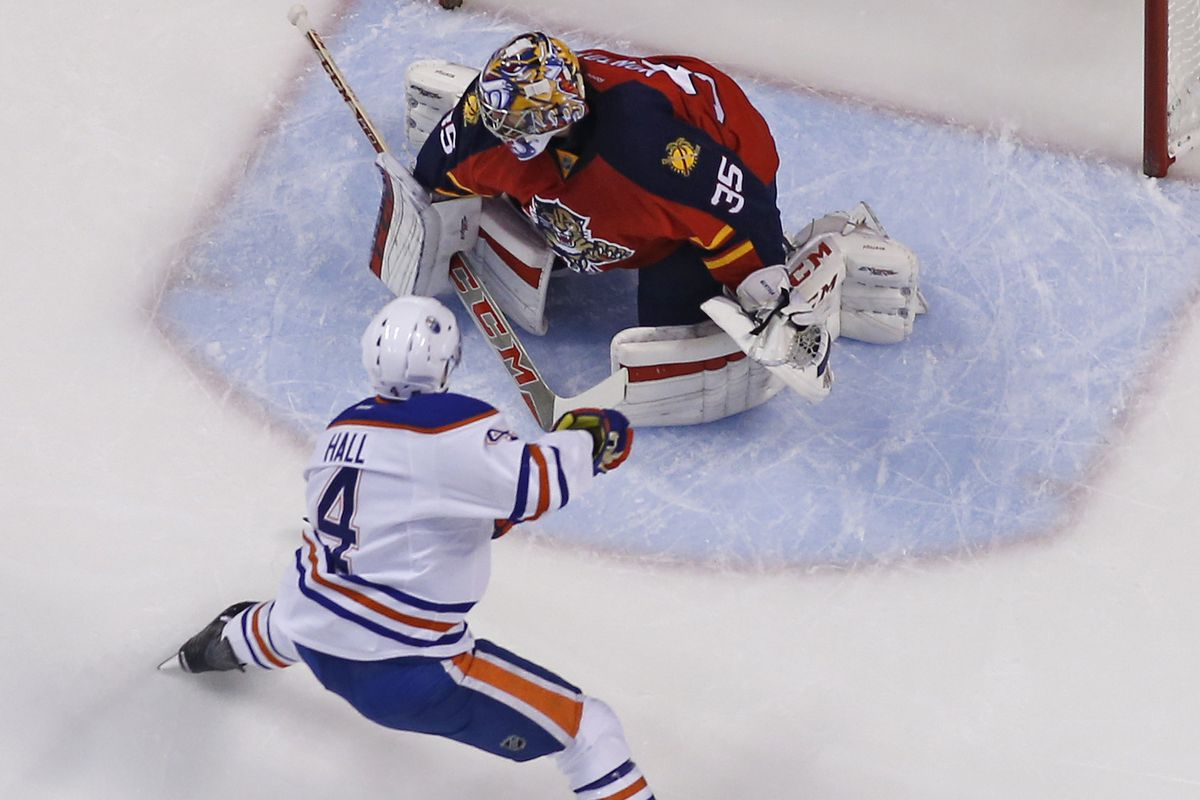 Just another day at the office for Taylor Hall
