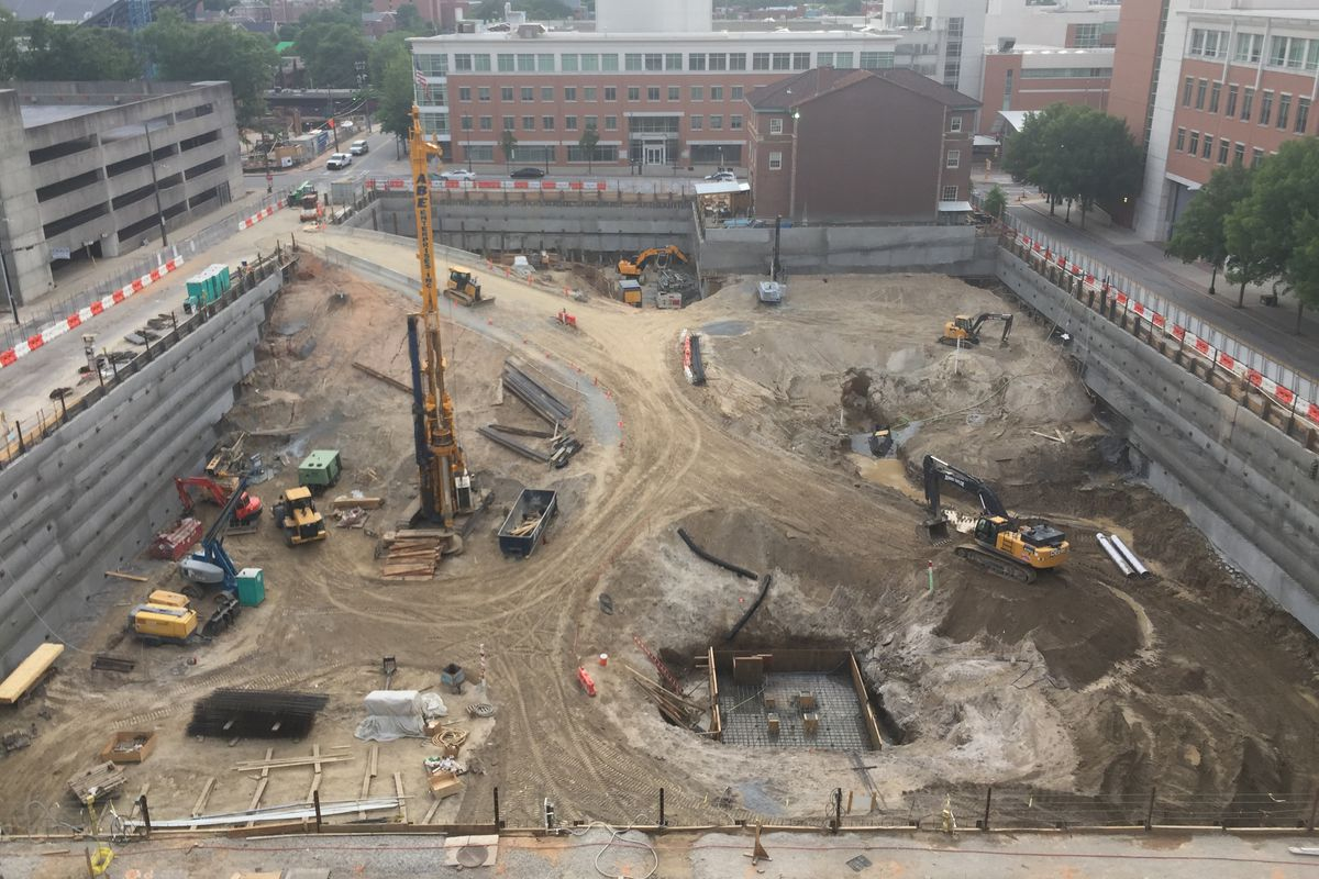 Coda Hits Rock Bottom In Midtown As Excavation Wraps Up