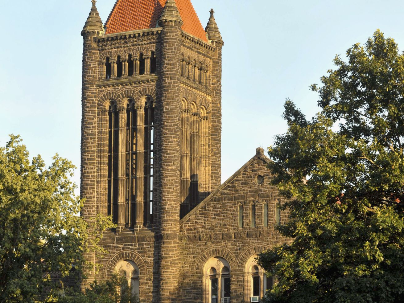Altgeld Hall, an architectural icon on the University of Illinois campus in Urbana.
