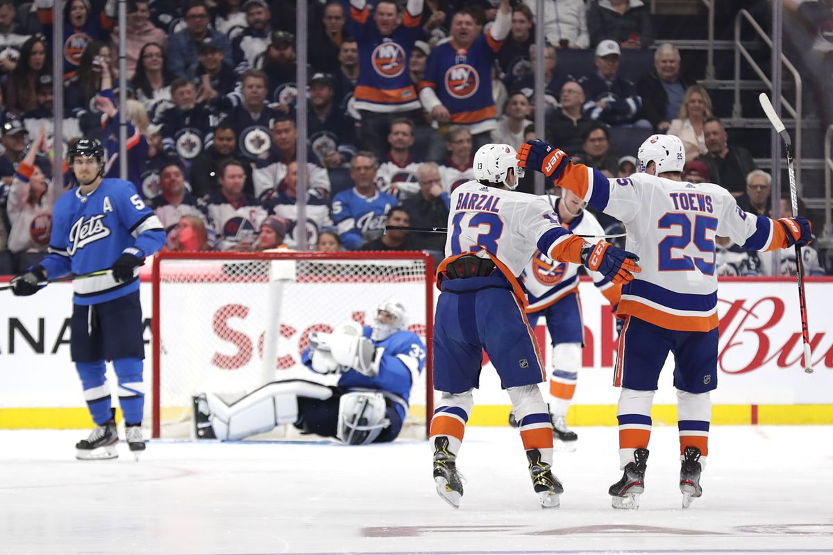 Recap: Winnipeg Jets downed by New York Islanders