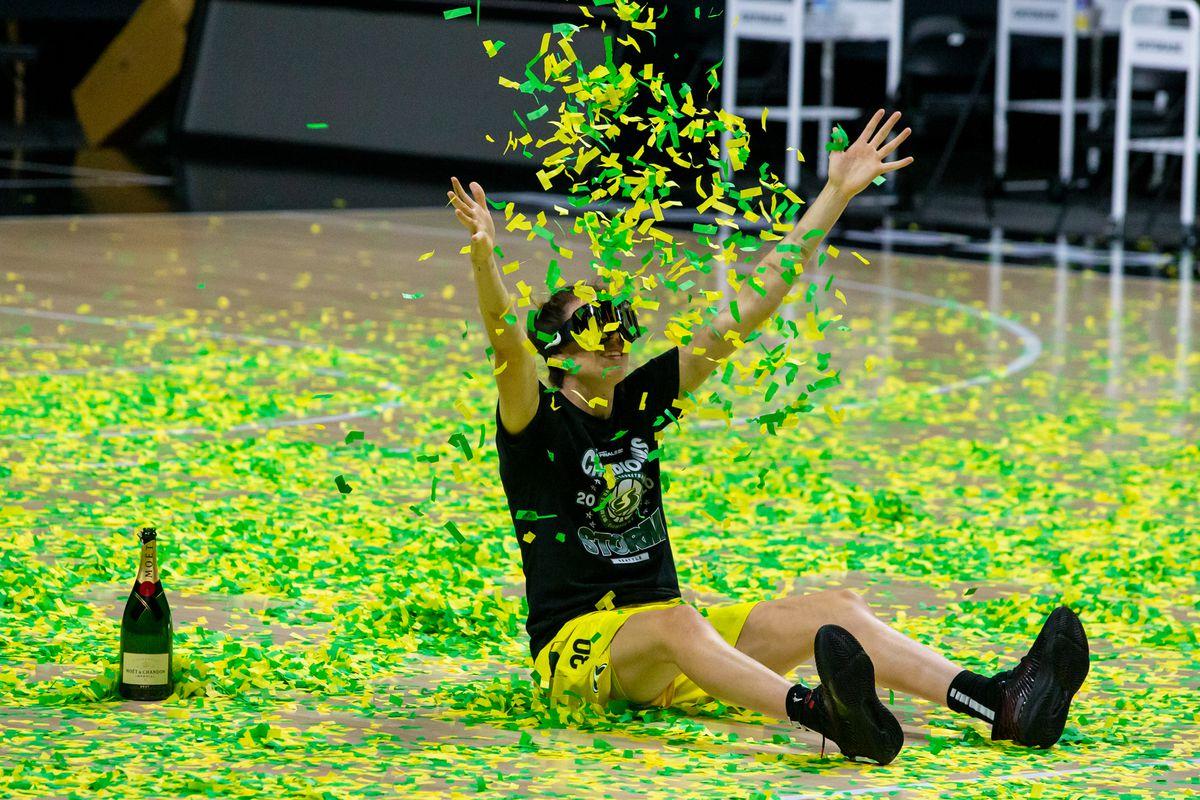 WNBA: Finals-Las Vegas Aces at Seattle Storm