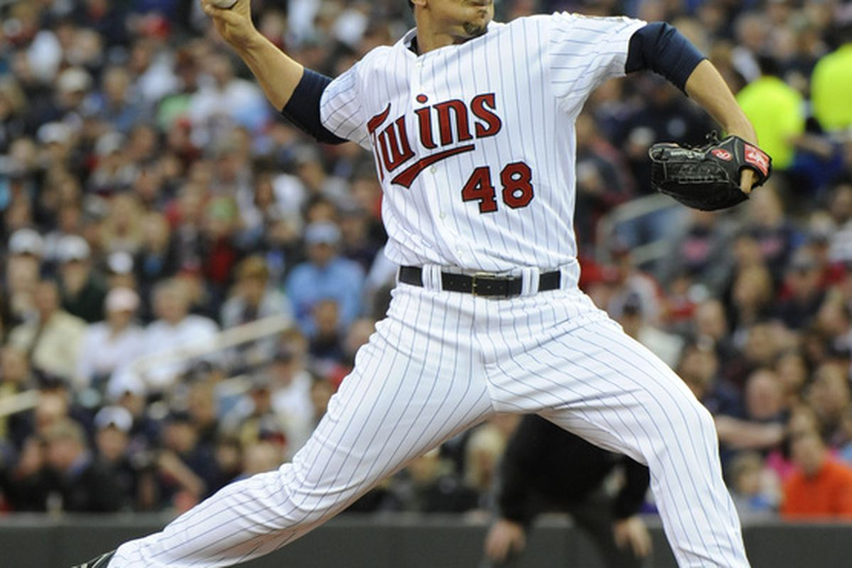 Carl PAvano was unable to stop the Twins current losing streak, now at 5 games.