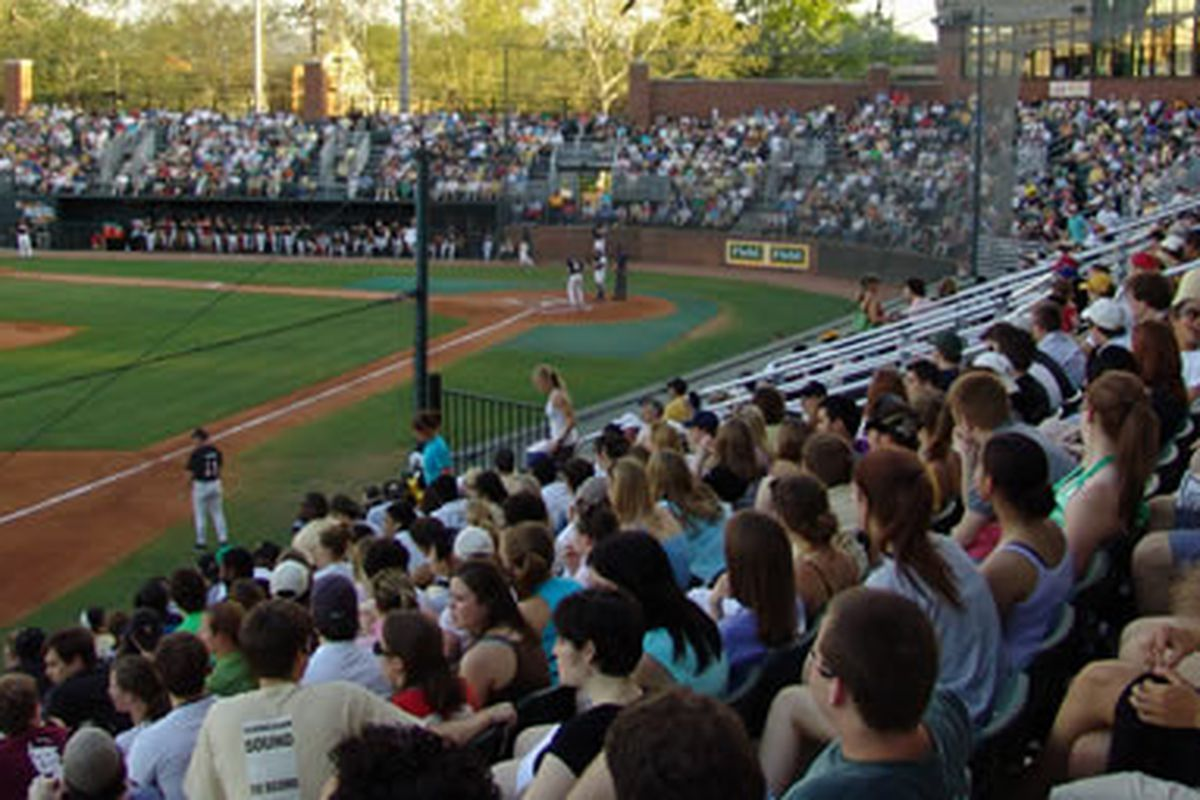 Hawkins Field - never a bad seat in the house. (via Nashville Outlaws)