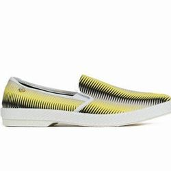 """<b>Rafael de Cardenas for Rivieras</b> Leisure Shoes in Black/White, <a href=""""http://www.openingceremony.us/products.asp?menuid=2&catid=16&subcatid=137&designerid=1809&productid=85343"""">$100</a> at Opening Ceremony"""