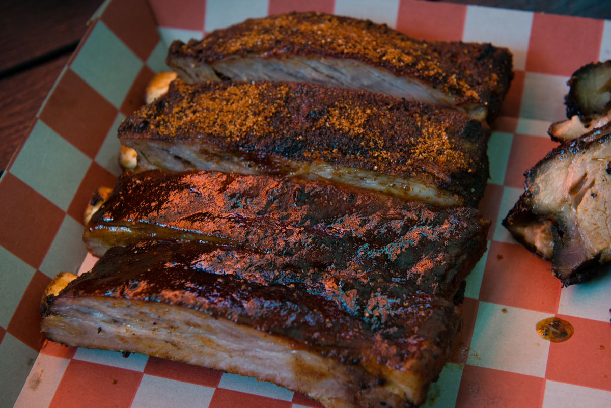 The BBQ Joint at Union Market is owned by Chef Andrew Evans.