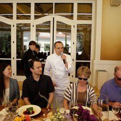 Jean-Georges Vongerichten at Farm Fresh to Table at Vegas Uncork'd. Photo: Isaac Brekken