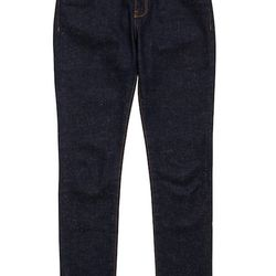 """<strong>Maison Kitsune</strong> Slim Cut Jeans in Melange, <a href=""""https://www.facebook.com/pages/Maison-Kitsune-New-York/272380076190515?ref=br_tf"""">$369</a> at Maison Kitsune at The Nomad"""