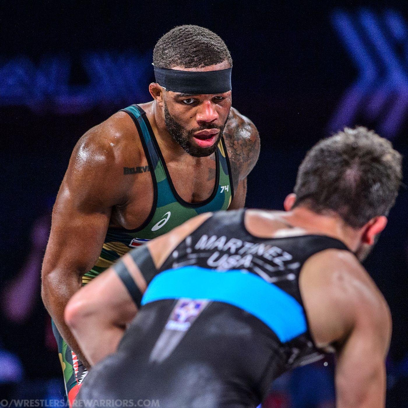 524601d1b2a Wrestling breakdown: How Jordan Burroughs denied Isaiah Martinez at ...