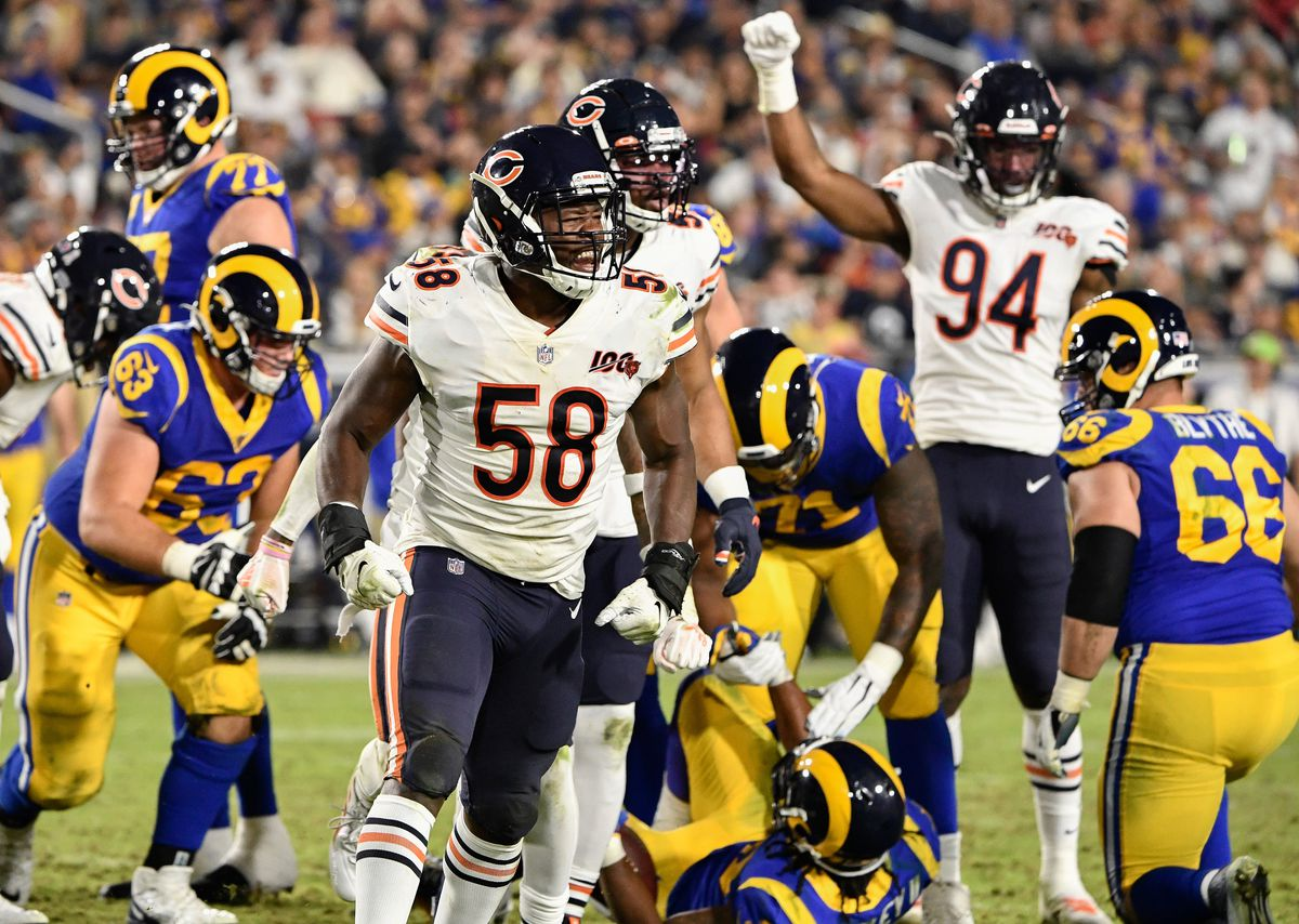NFL: Chicago Bears at Los Angeles Rams