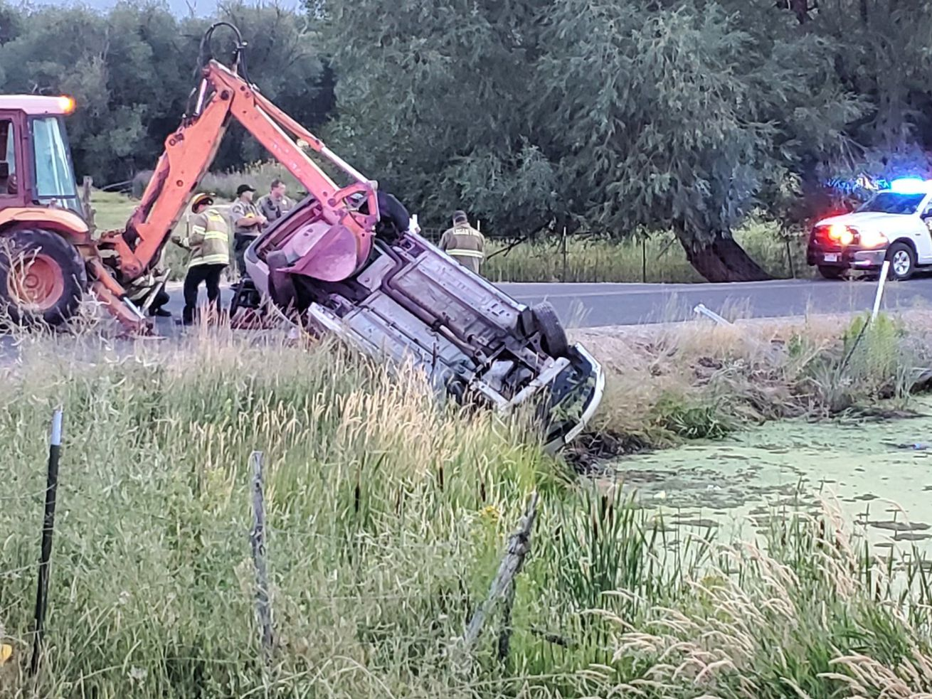 Woman killed in crash into Cache County pond