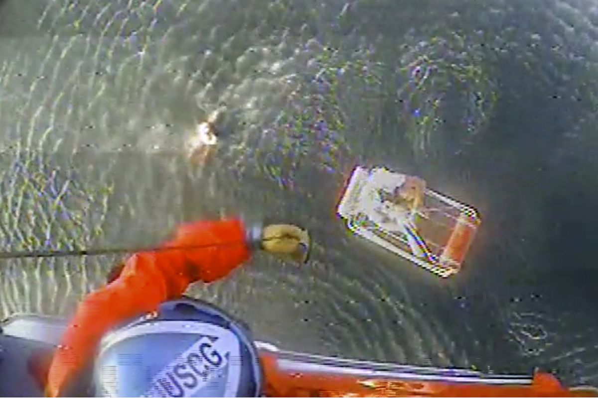Pilot of plane that crashed into California ocean took video while waiting for Coast Guard