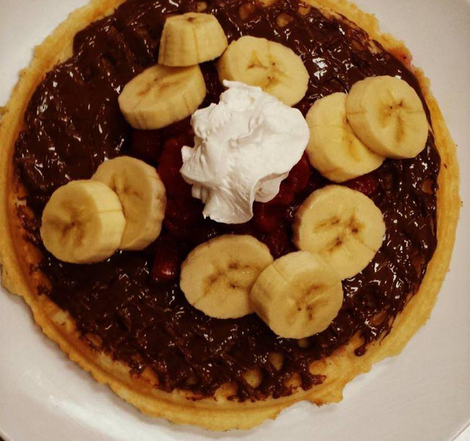 Waffle Shop VA breakfast