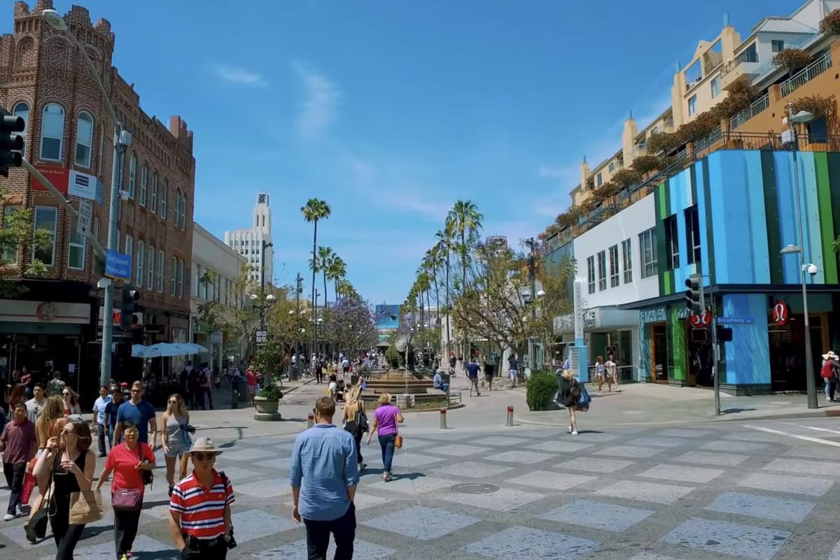 Third Street Promenade >> Santa Monica Considers Large Scale Overhaul Of Third Street