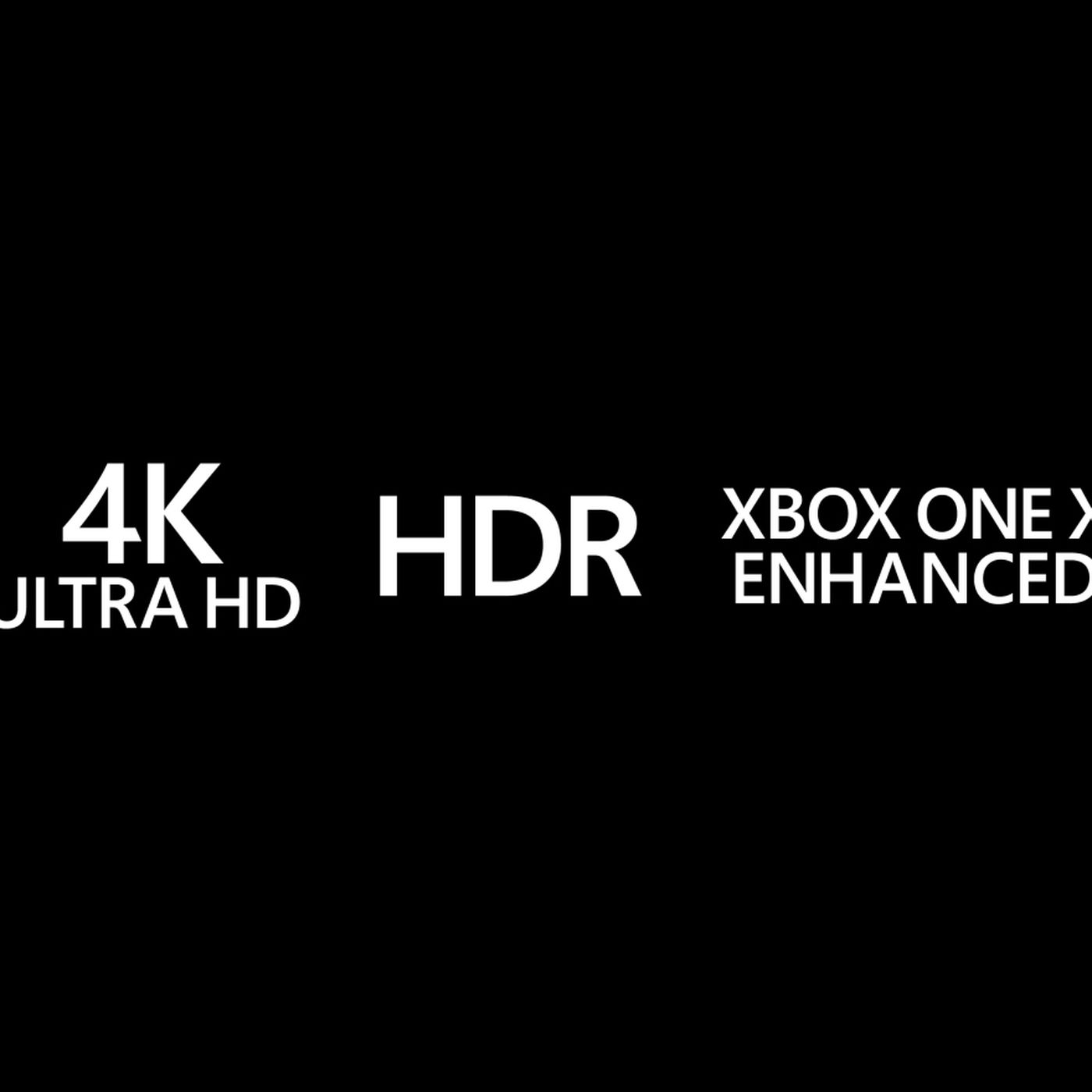 Look For These Xbox One X Logos To Know You Re Getting Enhanced 4k