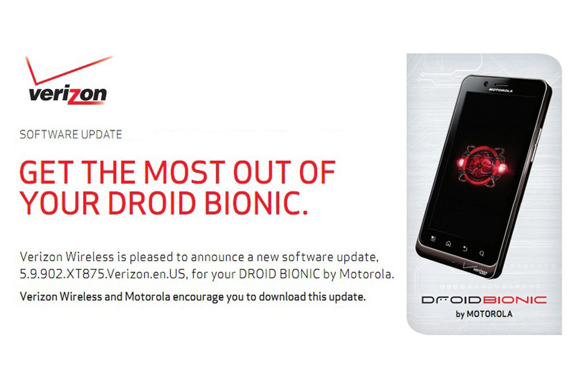Verizon's impending Droid Bionic update adds VCAST Apps Store