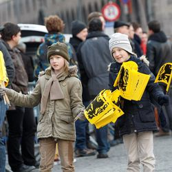 Flemish youth spread the message