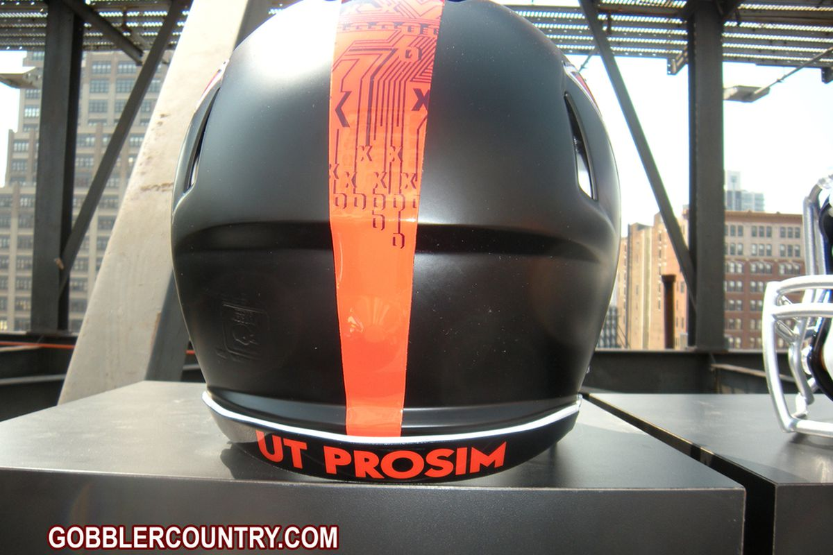 Virginia Tech's new Nike uniforms and helmet reflect both the school's military heritage and engineering program.