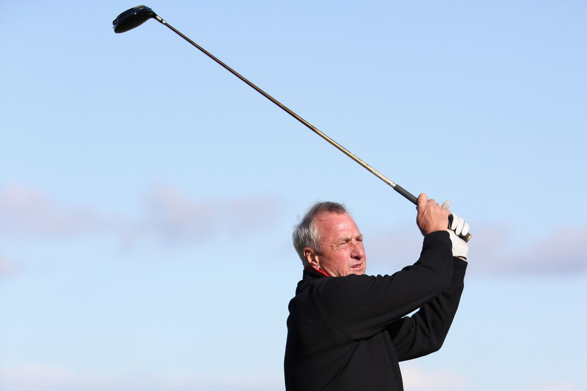 Cruyff: Has more time to play golf now.