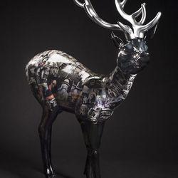 """The B&W Reindeer: A Retrospective of the Photography of Estevan Oriol"" by Estevan Oriol."