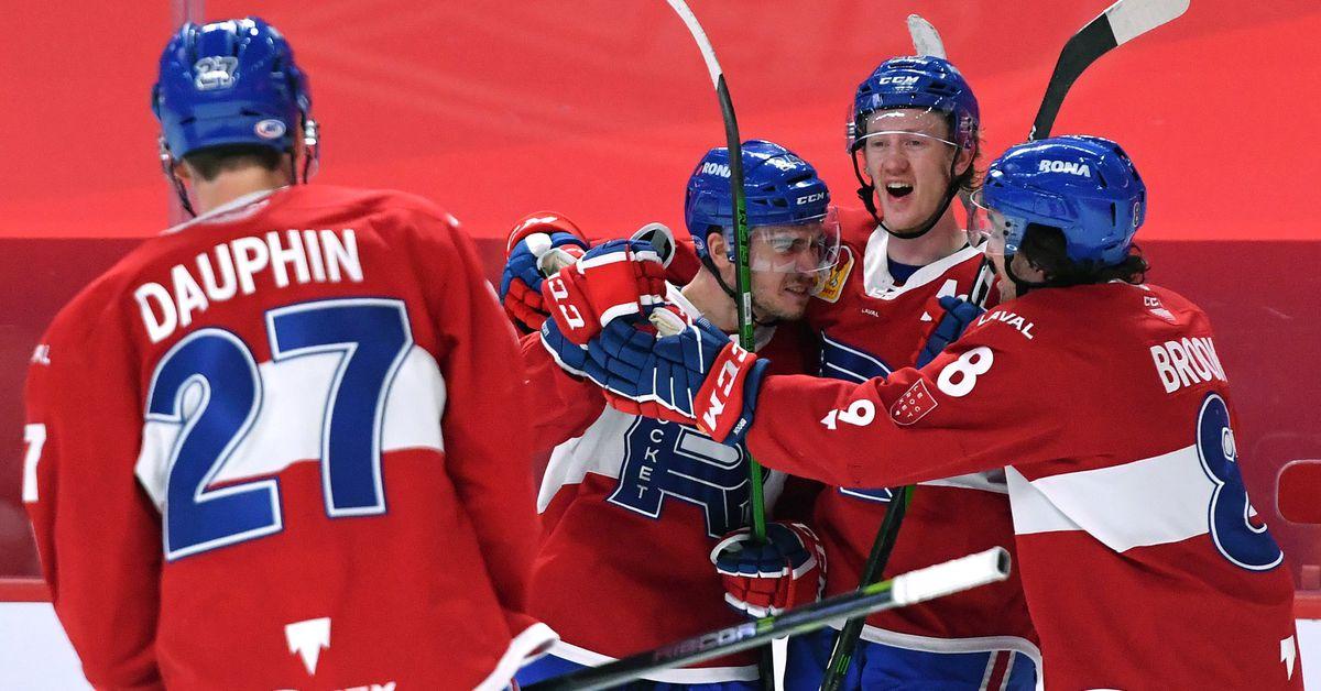 Laval Rocket @ Marlies recap & highlights: Dominant start gets them back on winning track