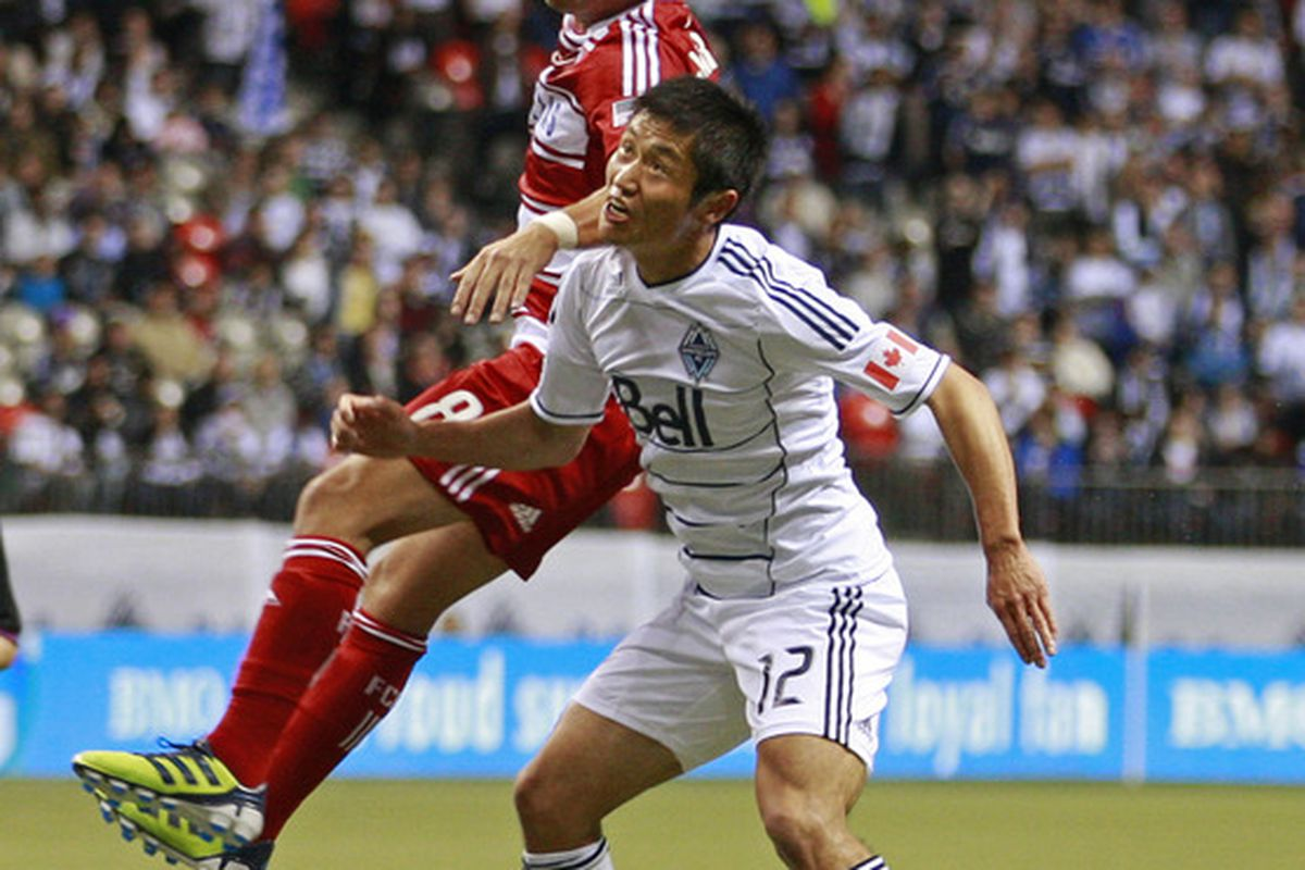Lee Young-pyo is going to be playing a <em>lot</em> of soccer in the next month...
