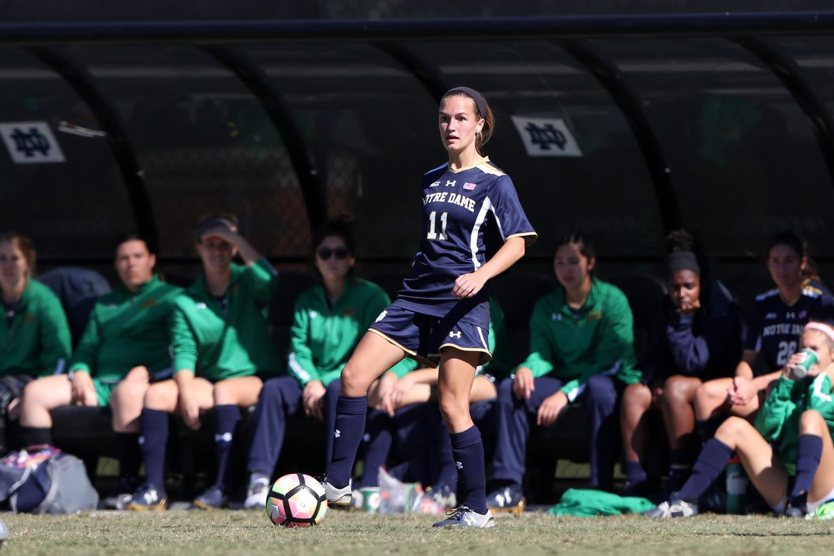 NCAA SOCCER: OCT 23 Women's - Notre Dame at Wake Forest